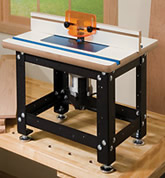 benchtop router table