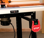 Switch for Router Tables