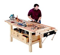 Free Woodworking Workbench Plans
